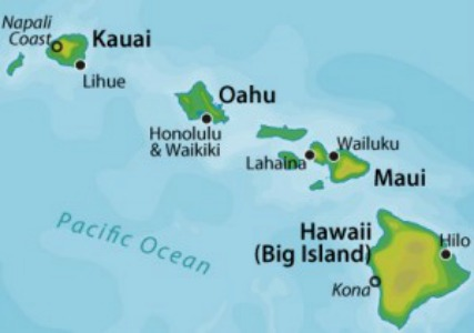 Second Largest Island Of Hawaii